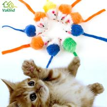 10Pcs/lot Cat's Toys  Creative False Mouse Pet Cat Toys Cheap Mini Funny Playing Toys For Cats Kitten