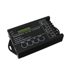 5 Channel Programmable LED Time Controller for RGBW/RGB/Dual Color/Single Color LED Lights DC12-24V 20A ALI88(China)