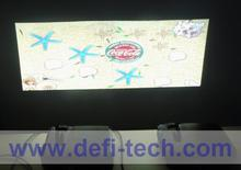 DEFI Double screen Interactive floor system support 2 projectors including Edge Blending setting 16 effects