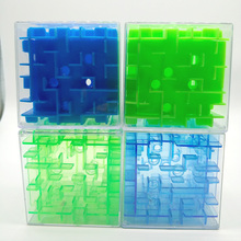 Cool!! Maze Magic Cube Puzzle 3D Mini Speed Cube Labyrinth Rolling Ball Toys Puzzle Game Cubos Magicos Learning Toys For Chilren