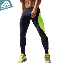 Aimpact Skinny Men Sport Pants Athletic Slim Fitted Running Men's Pants Gym Strip Tight Sweatpants AQ17