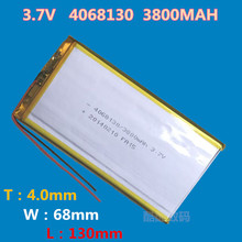 best battery brand Good Quality COSLight Cell 3.7V 3800mAH (Real Capacity) Li-ion battery for 8,9, U9GT3 Tablet PC 4.0*68*130