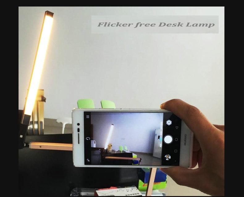 Artpad Energy Saving Modern LED Desk Lamp Dimmer Eye Care Swing Long Arm Business Office Study Desktop Light for Table Luminaire 7