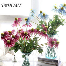Artificial chrysanthemum gerbera silk daisy fake flowers high quality for home arrangement wedding diy bouquet decoration bulk
