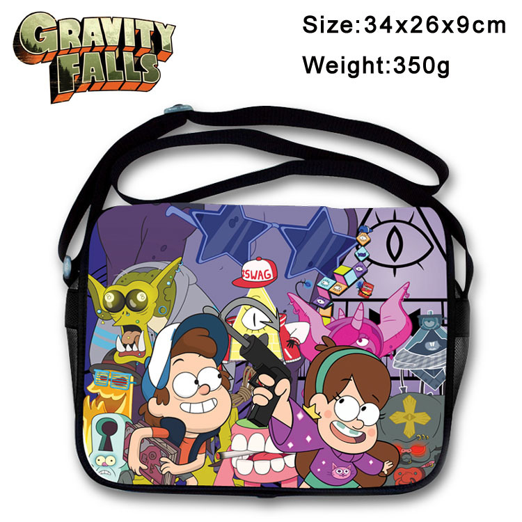 2017 Anime Gravity Falls Messenger Bag Cosplay Shoulder Travel Bag Canvas Handbag School Bags<br><br>Aliexpress