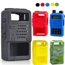 Besegad Protective Soft Handheld Case Cover Skin Shell Holster for Baofeng Two Way Mobile Radio UV5R 5RA 5RB 5RC 5RD TYT THF8