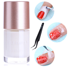 Finger Skin Protected Glue White Peel Off Liquid Tape 9ML Cream Nail Art Polish for Easy Clean Nails Polish Oil Gel Palisade(China)