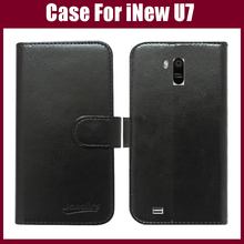 iNew U7 Case High Quality android phone leather case protective cover for iNew U7 case 6 colors for choice in stock(China)