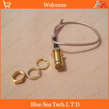 2piece RG178 20cm Gold Plated RF Straight RP SMA Female Jack to uFL/u.FL/IPX/IPEX Connector Pigtail Extension Cable