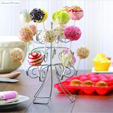 Sweettreats 3 Tier 18 Cake Pops Display Holder Lollipop Stand Base Party Wedding Decoration(China)
