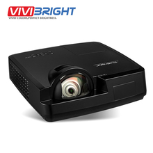 VIVIBRIGHT 3500 ANSI Lumens Short Throw LED Projector, 1024x768. Projector for Business, Teaching, Home Theater. PRX570ST(China)
