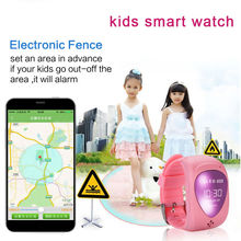 Kids Smart Watch Kid Boy Girl Safe Wristwatch JM09 GSM GPRS GPS Locator Tracker Smartwatch Child Guard support GSM/3G/4G Sim