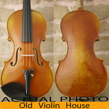 Carpathian Spruce Stradivarius Viotti 1709 Violin With Lable,100% Antique varnish. Aubert Bridge,No.2455