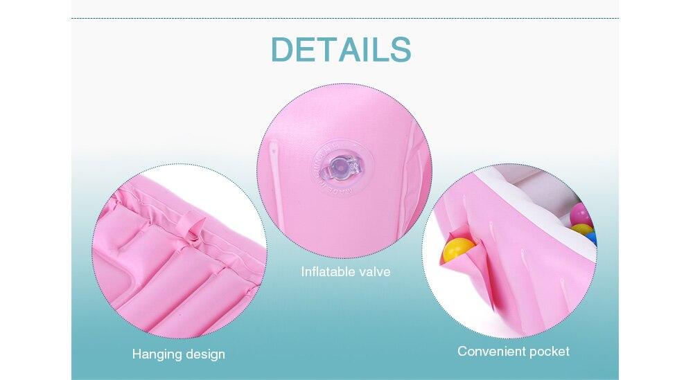 Vasca Da Bagno Gonfiabile Per Bambini : Acquista vasca da bagno grande gonfiabile neonati vasca da bagno
