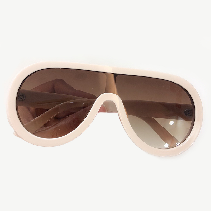 Big Size Frame Oval Sunglasses 2019 Fashion Luxury Brand Designer Acetate Frame Eyewear Oculos De Sol Feminino