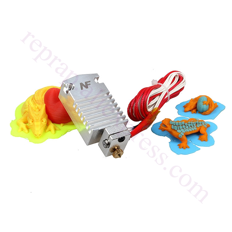 2017 Newest Design Cyclops Extruder 2 In 1 Out 2 colors Hotend Bowden Extruder Compatible with Titan Extruder, Bulldog extruder<br><br>Aliexpress