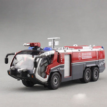 1:50 KAIDIWEI airfield water fire Truck Toy(China)