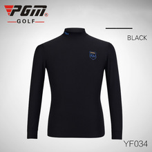 2018 PGM Clothing Men POLO Tshirt Spring Long Sleeve Quick Dry Warm Autumn Winter Golf Shirts for Male Apparel Ropa De Golf New(China)