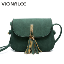 Nubuck Tassel Women Messenger Bags Vintage Designer Handbags High Quality Female Shoulder Bag Women CrossBody Bags Sale Lady