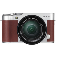 Fujifilm X-A3 Digital Camera with 16-50mm Lens - Brown Color