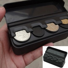 HOT Auto Car Coin Pocket Cases Storage Boxes Plastic Holder Organizer