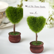 24 Pcs/Lot Love Tree Table Card Holder for Wedding Favor / Dinner Party Name Card Holder As Gift
