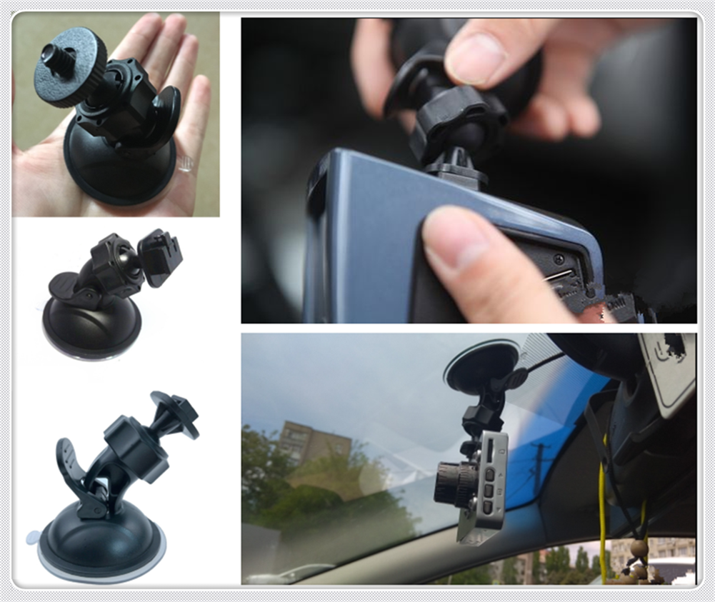 Driving recorder bracket car camera suction cup 360 degrees for Opel Optima Rio5 Rio K2 K3 K4 K5 KX3 KX5 Insignia