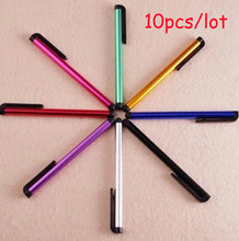 10pcs/lot Universal Tablets Tablet Touch Screen Stylus Pen For Samsung Huawei Lenovo Asus Acer Chuwi Ipad iPhone Tablet Touch(China)