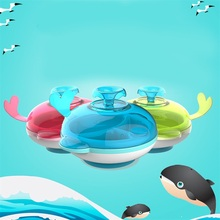 Plate Food Container Children Eating Tableware Keep Food Warm Feeding Assist for Baby Infant Eating Kids Bowl Dinnerware Set(China)