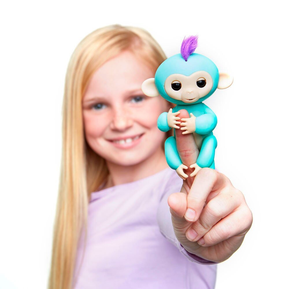2017 New Fingerlings Interactive Baby Monkeys Toy Smart Colorful Fingers Llings Smart Induction Toys Christmas Gift Toy For Kids 16