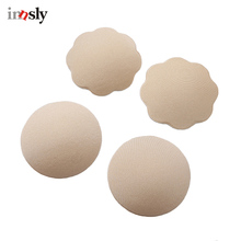 1 Pair Nipple Cover Silicone Chest Stickers Bra Self Adhesive Reusable Chest Cover Invisible Breast Petals Women Chest Stickers(China)