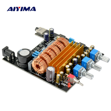 Aiyima TPA3116 2.1 HIFI Digital Audio Amplifier Board Personal DIY 50Wx2+100W mini Subwoofer amplifiers(China)