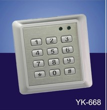 waterproof type single door controller 2000 access control machine yk-668