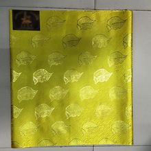 LXL-19-3 Yellow African Headtie, Sego Gele/Ipele, pairs head tie/scarf for head wrapping 2pcs/pack for wedding fabric