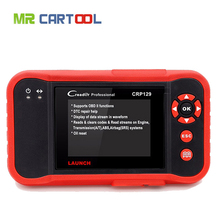 Newest Software Launch Creader CRP129 OBDII/EOBD Auto Code Scanner free update online diagnostic for 4 system Launch CRP129