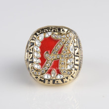 Replica National College 2009 Alabama Crimson Tide  High Quality Championship Ring Size 11