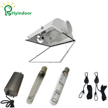 250W 400W 600W 1000W MH HPS Grow Lights System with Air Cool Lamp Cover Reflector Lamp Covers Shades(China)