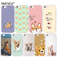 Buy MaiYaCa cute Corgi dog Luxury Hybrid phone case Apple iPhone 8 7 6 6S Plus X 5 5S SE 5C 4 4S Cover for $1.29 in AliExpress store
