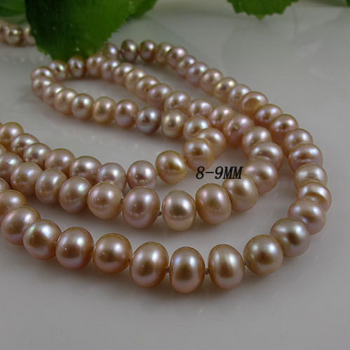 Unique Pearls jewellery Store,Purple Color Real Freshwater Pearl Necklace,120cm Long Pearl Necklace,Perfect Lady's Party Gift