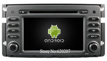 S160 Android 4.4.4 CAR DVD player FOR BENZ Smart For Two (2010-2011)  car audio stereo Multimedia GPS Quad-Core