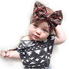 Buy Hair Accessories Children Bowknot Baby Girl Headband Flower Headbands Elastic Hair Band Bohemia Head Band for $1.02 in AliExpress store