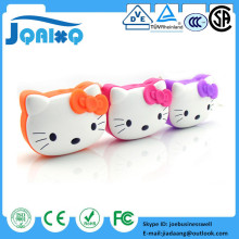 Cartoon Hello Kitty Caixa De Som Mini Speaker FM Radio USB Micro SD TF Card Mp3 Computer Subwoofer Music Box Portable Speaker