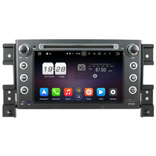 Octa-Core 2G RAM Android 6.0 Car DVD GPS For SUZUKI GRAND VITARA 2005-2011 2012 2013 Stereo Radio WIFI 4G Mirrorlink+gift camera