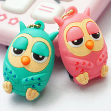 New Telephone plug Owl kawaii Anti Dust Plug For iPhone For Samsung for xiaomi For All Normal 3.5mm headphones Gadgets Stubs(China)