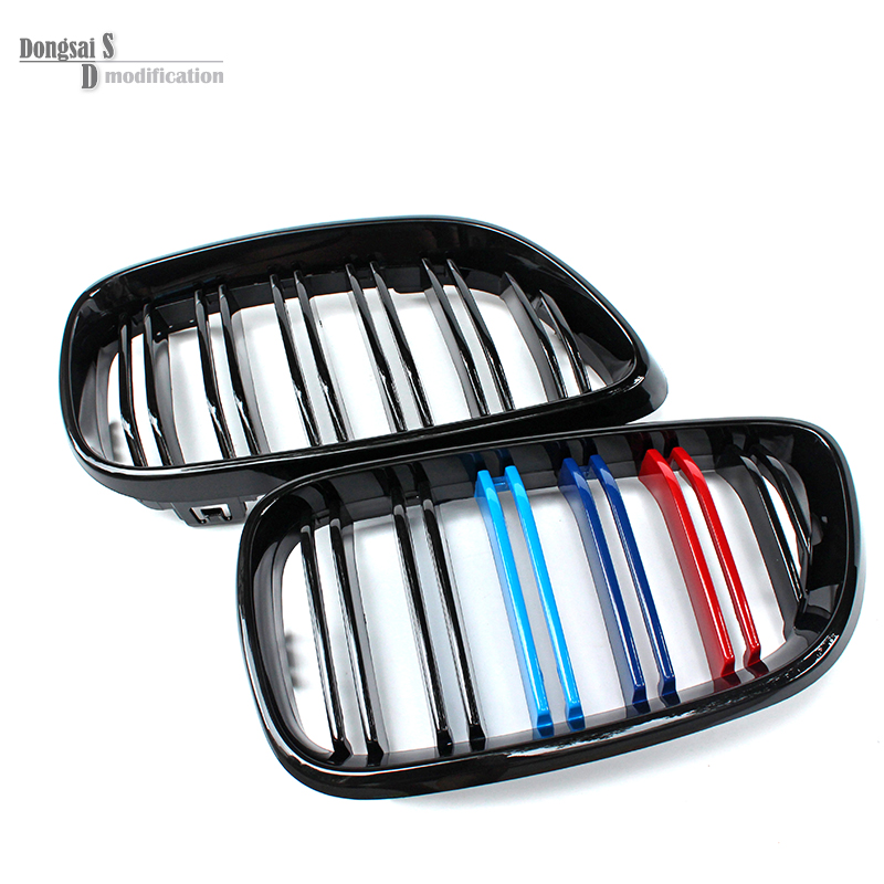 Aliexpress com buy f22 m tri color grill f23 front replacement bumper grill for bmw f87 m2