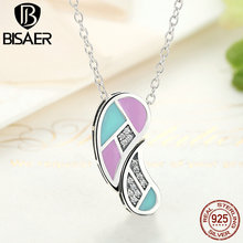 Collection Genuine 100% 925 Sterling Silver Love Heart Forever Necklaces & Pendants Jewelry Making Accessories GXN064