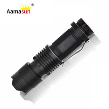 Led Flashlight E17 cree Q5 Mini led flashlights 3 Mode Zoomable Waterproof LED Tactical Torch penlight 2000LM linternas Lanterna()