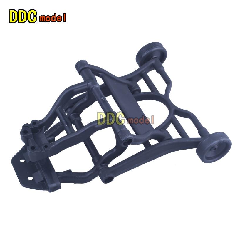 1//10 Scale RC Auto Wheelie Stab Anti roll Castor Wheel Kit für HSP