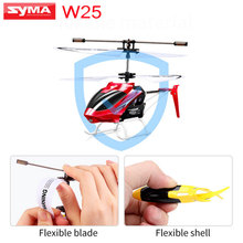 New Listing SYMA W25 RC Helicopter 2CH Indoor Small RC Electric Aluminium Alloy Mini Drone Remote Control Shatterproof boys toys(China)