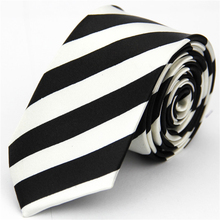 Slim Necktie Mens Accessories Wedding Skinny Tie for Men Jacquard Woven Striped Casual White Black Check Plaid Pattern Gravatas